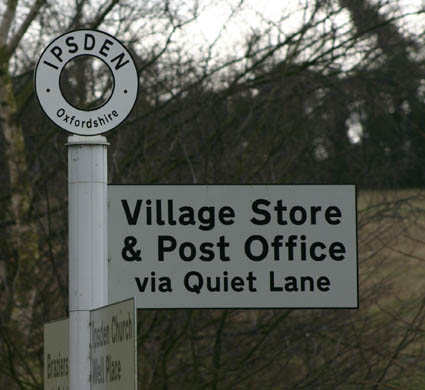 Ipsden Village: Post Office and Shop